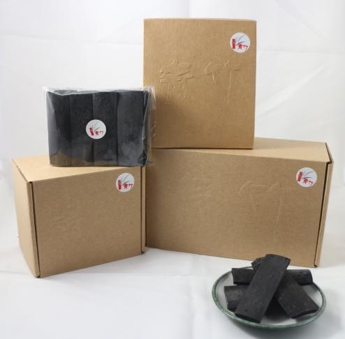 青竹盒裝竹炭片 1